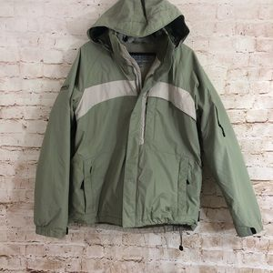 Columbia Convert Men's weather Jacket Size Large